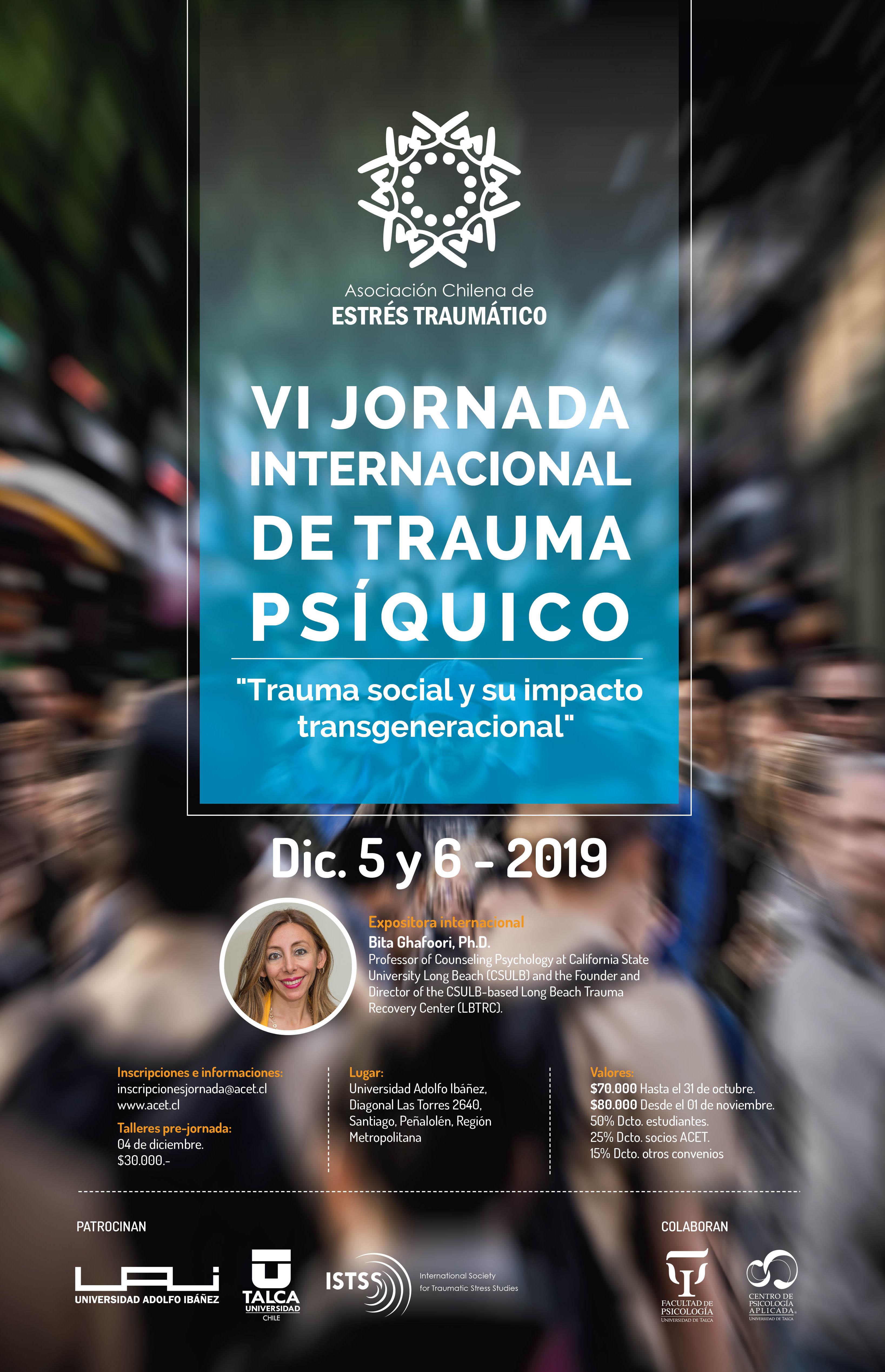 VI Jornada Internacional de Trauma Psíquico